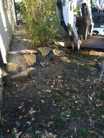 Sewer Line Repair trench Kansas City